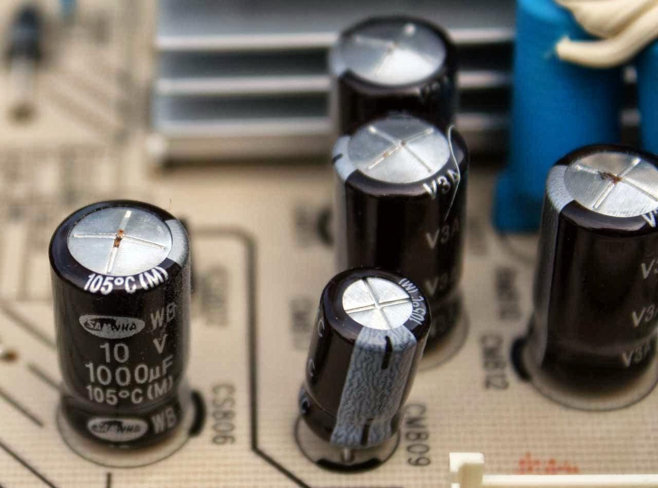 capacitor eletrolitico_Per automação