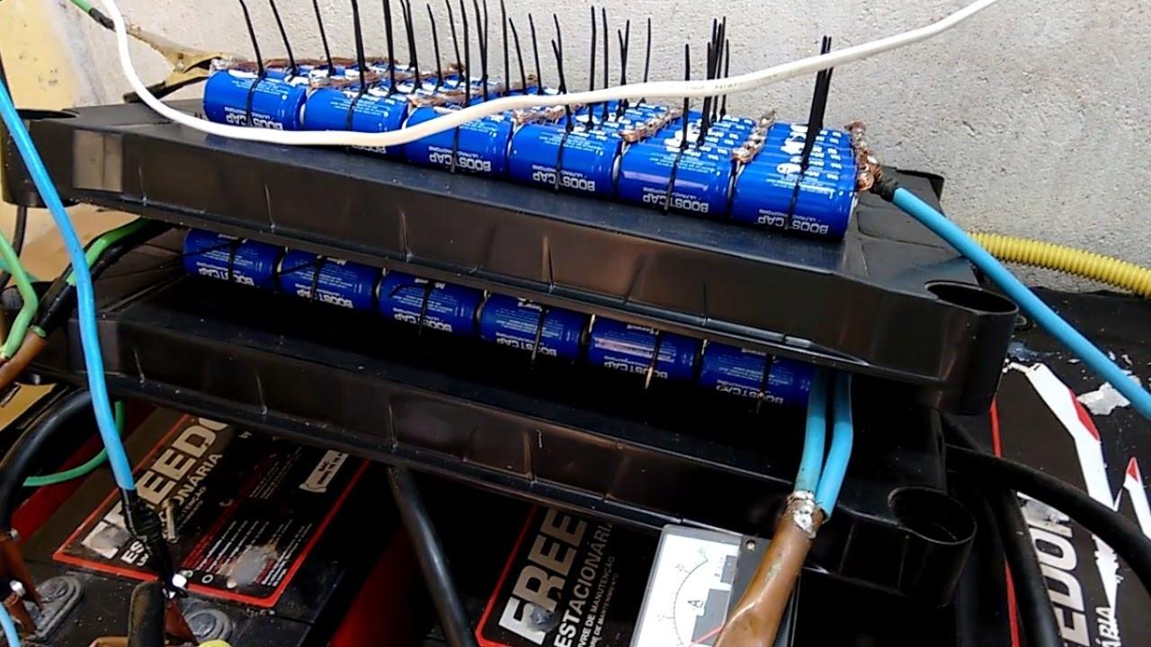 super capacitor_Per automação